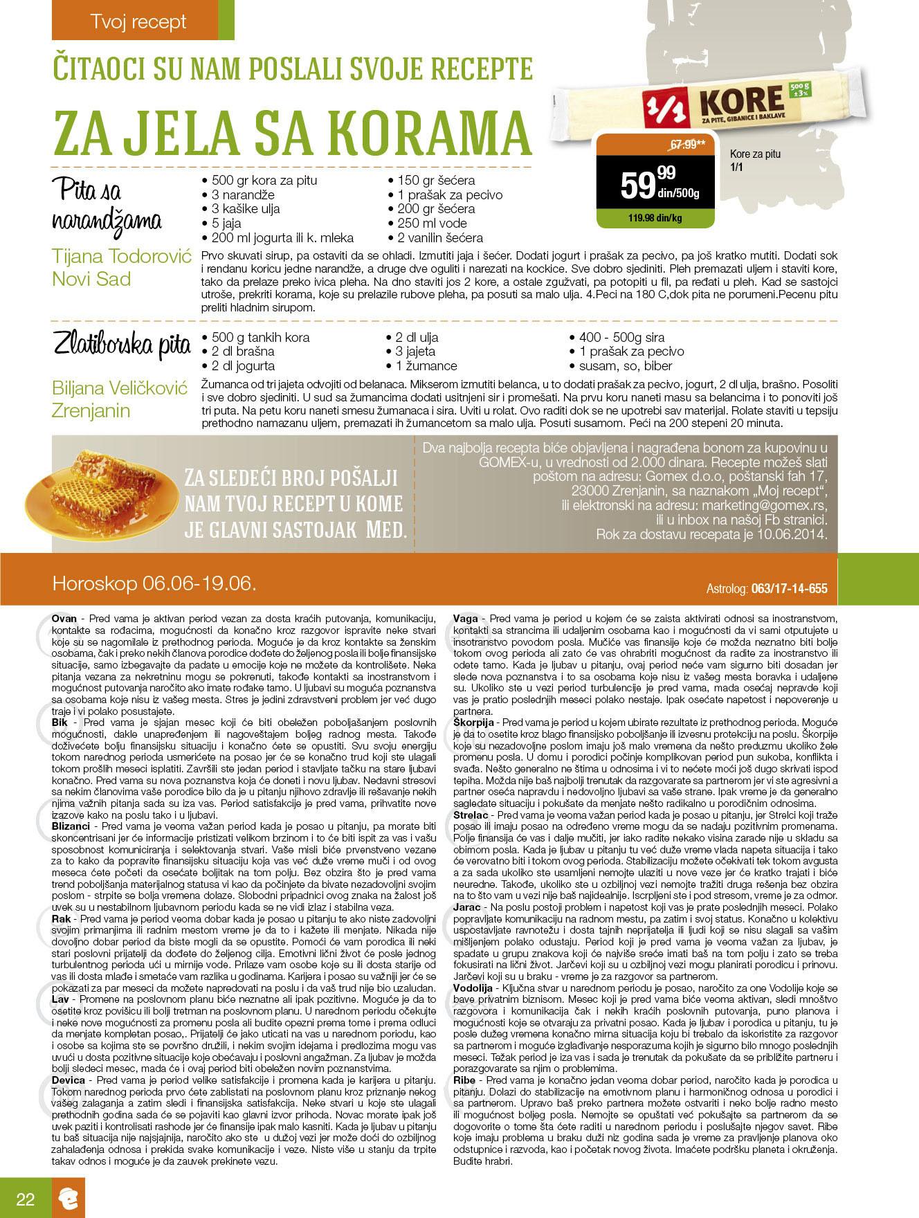 Gomex akcija porodični magazin niskih cena