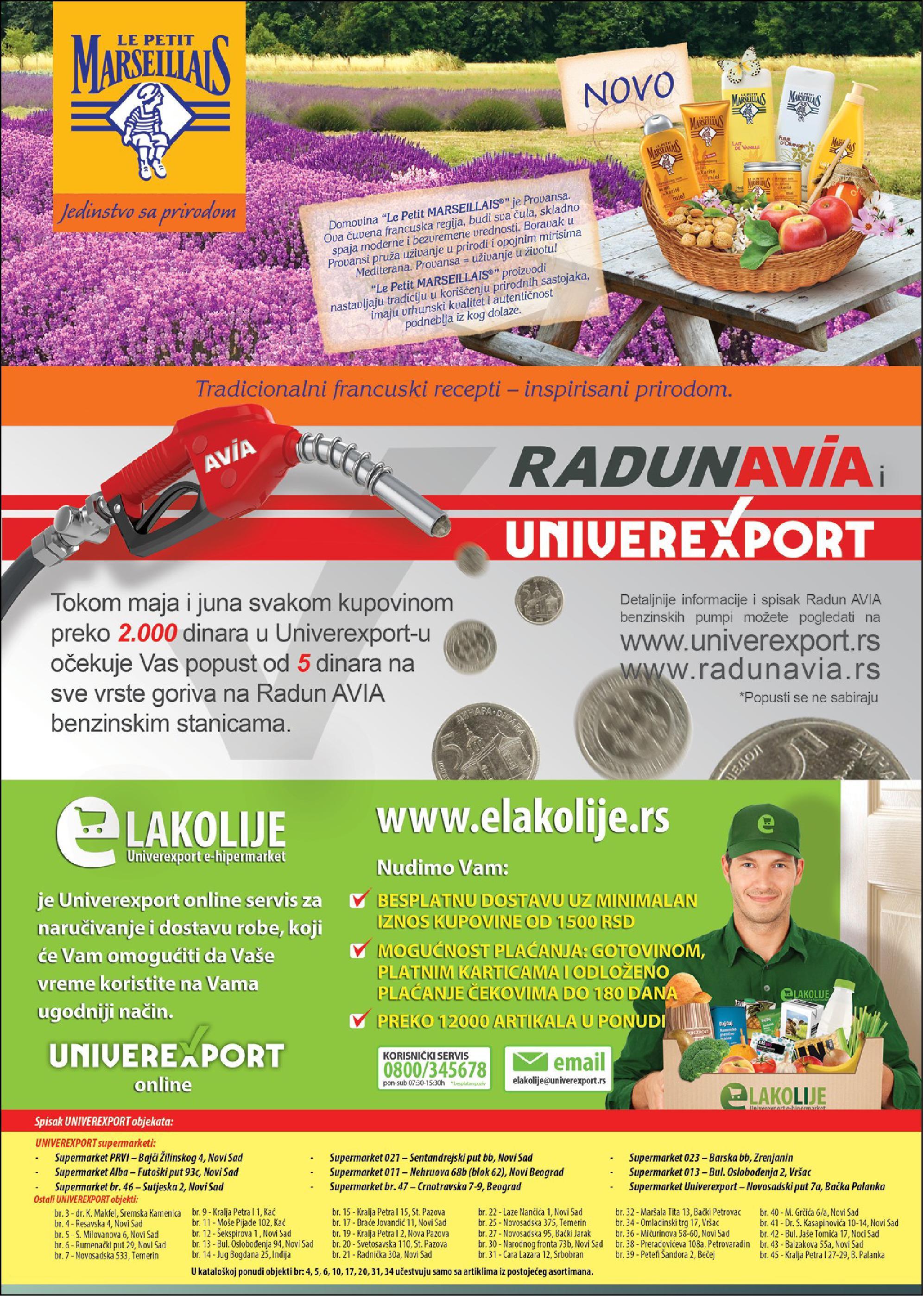 Univerexport akcija dobre ponude
