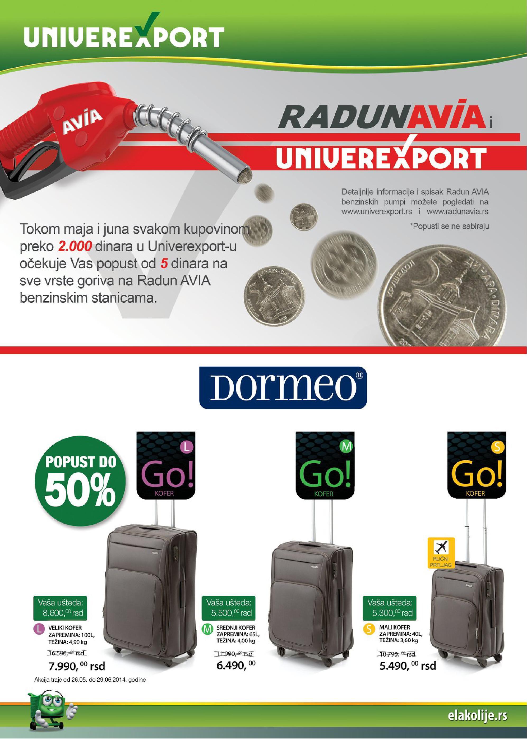 Univerexport akcija sjanih cena za vas