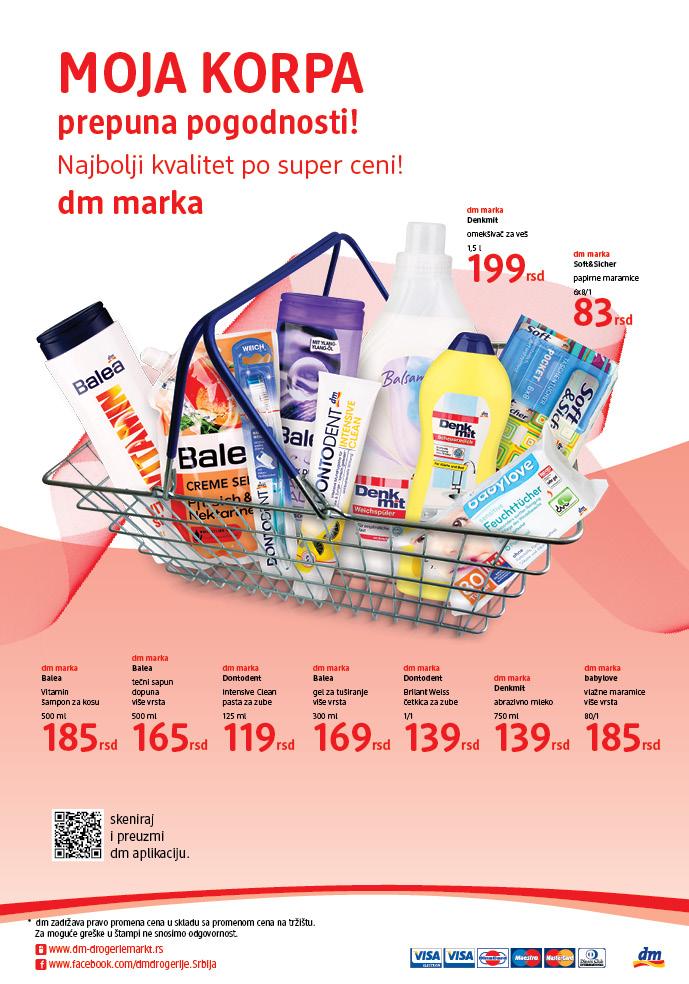 DM katalog odlična ponuda