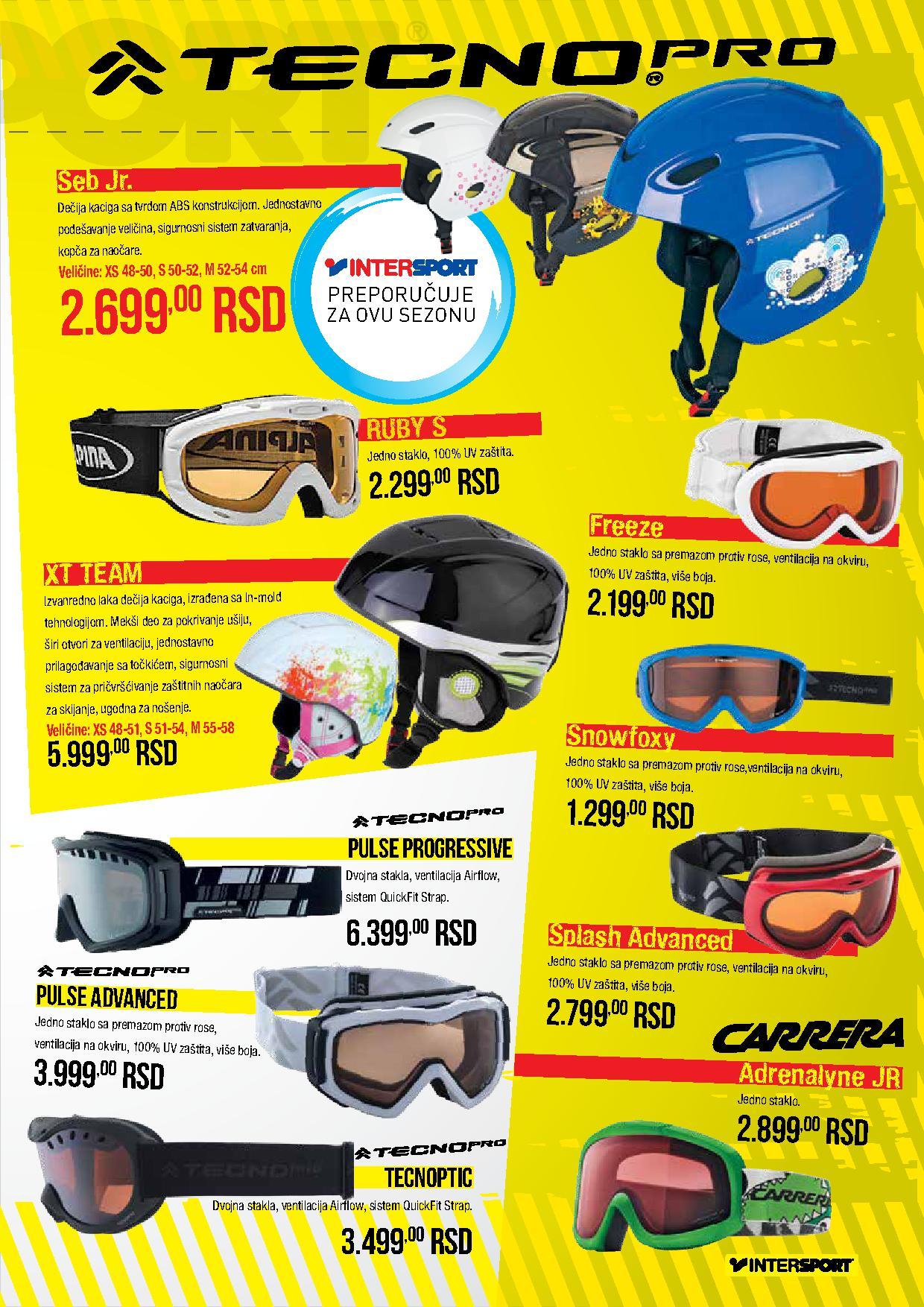 Intersport katalog zimske opreme