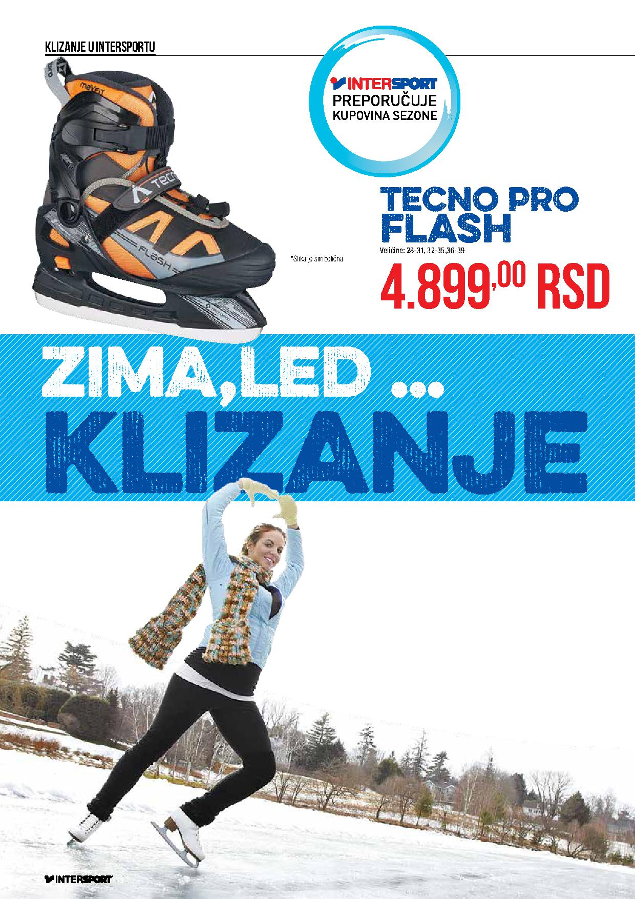 Intersport akcija vodič za zimu