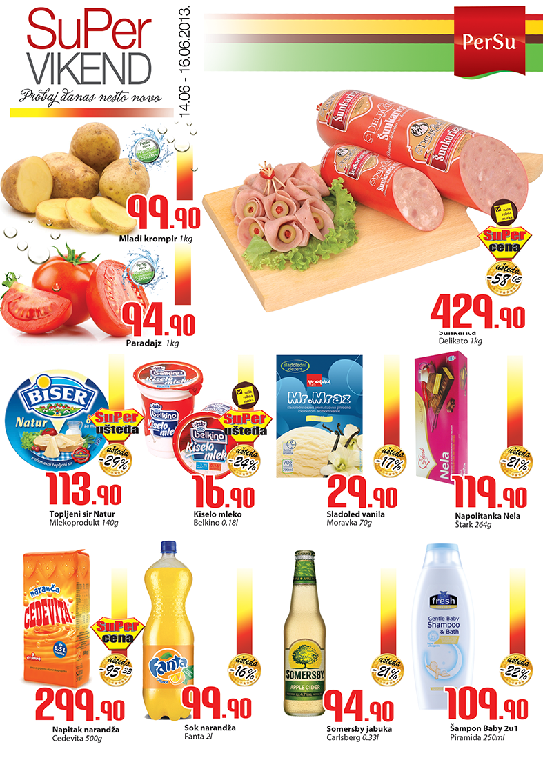 Persu Katalog vikend dobre kupovine