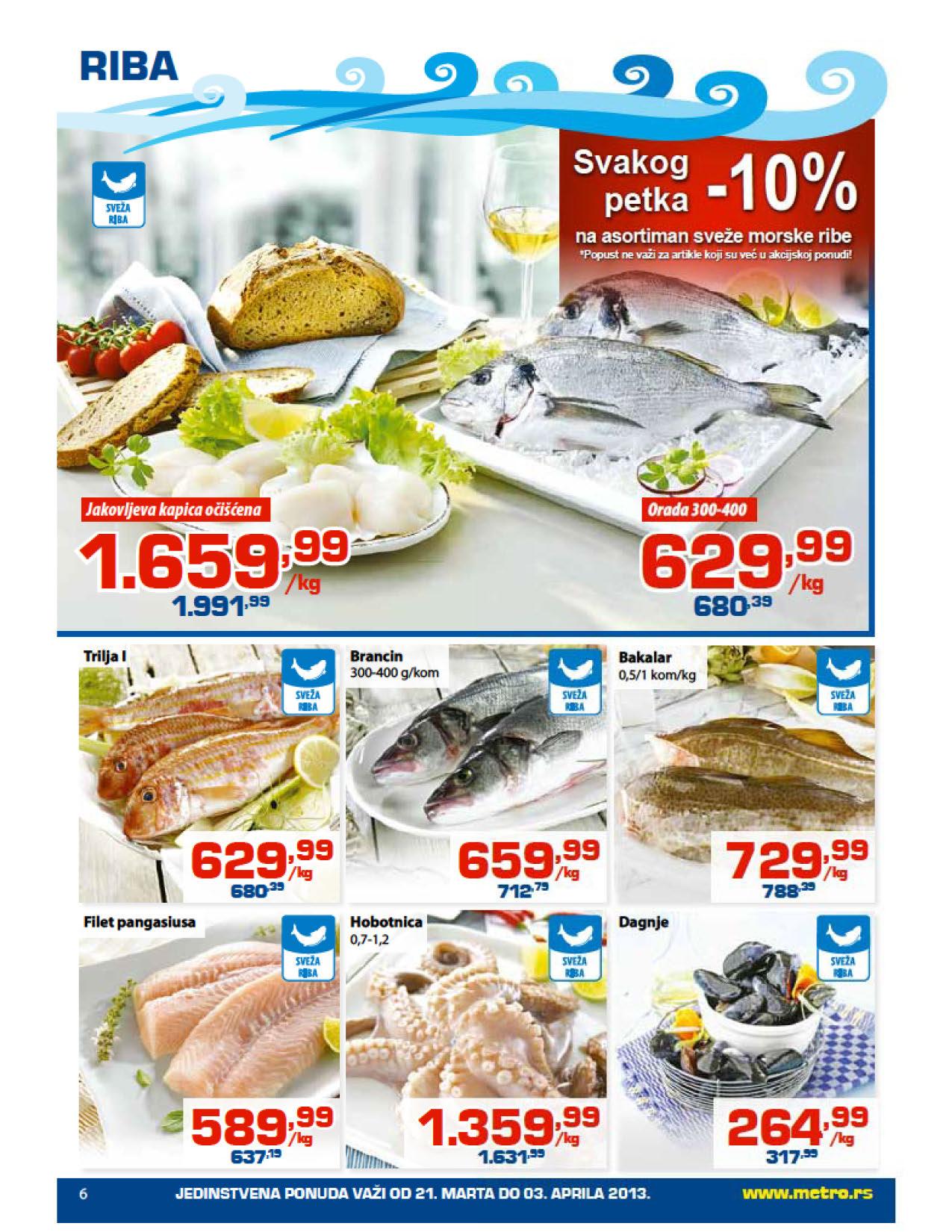 Metro Katalog Prehrana