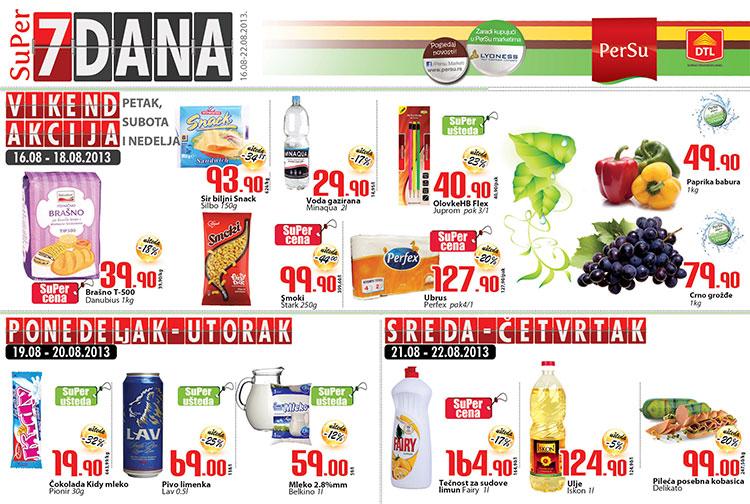Persu katalog 7 dana odlične kupovine