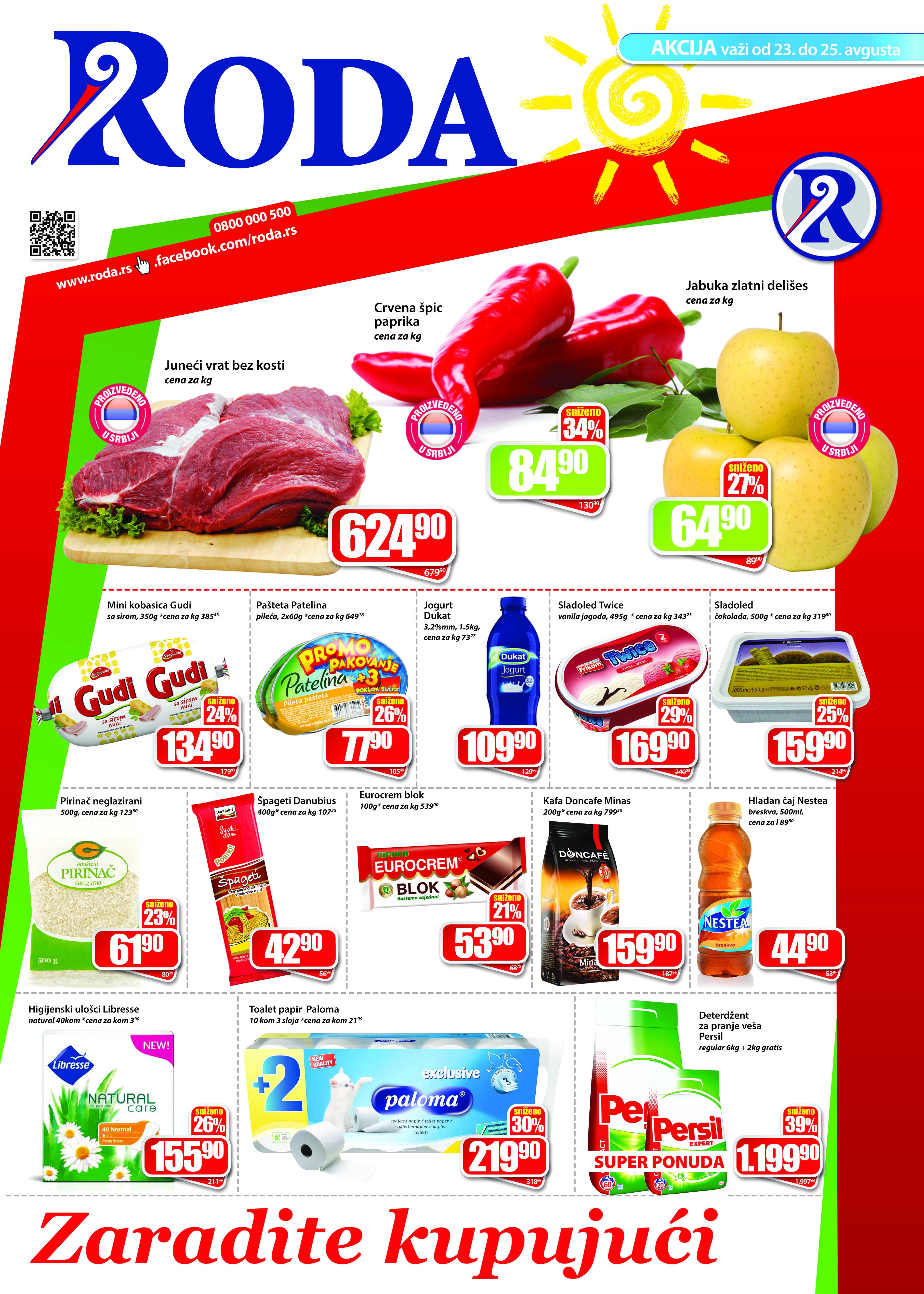 Roda katalog vikend odličnih cena