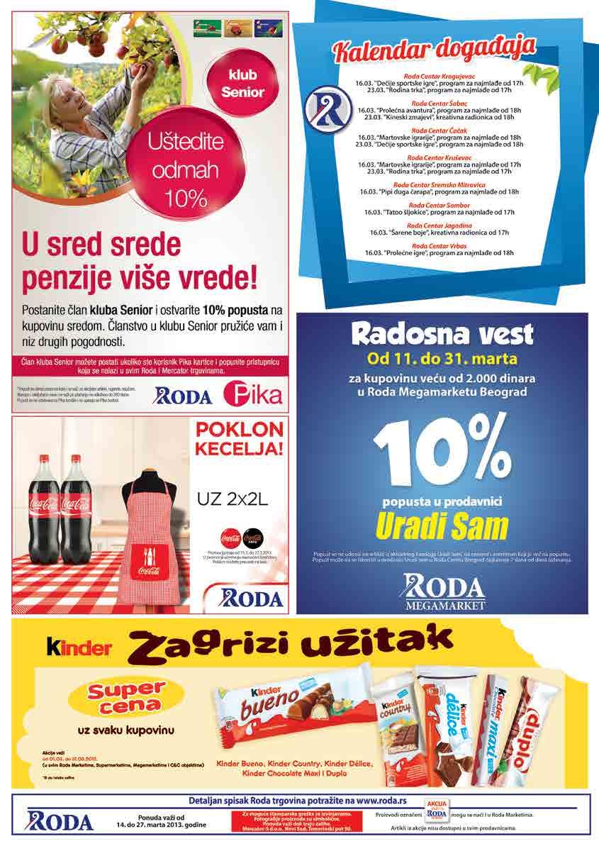 Roda Katalog Akcija Prehrana