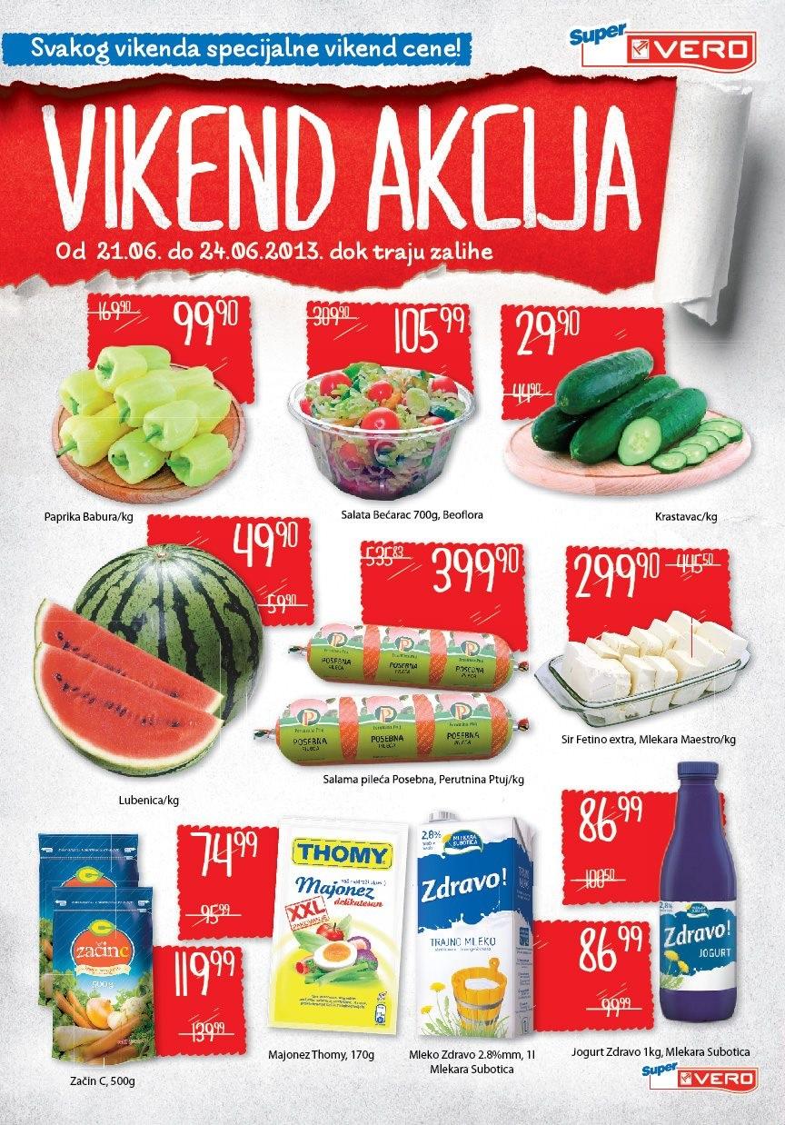 Super Vero Katalog vikend cene