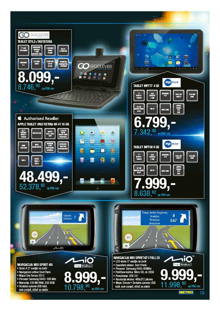 Metro Katalog Tehnika