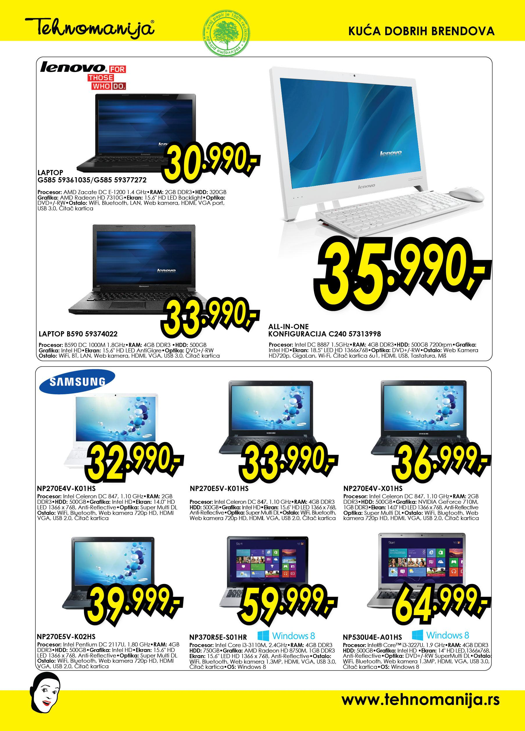 Tehnomanija katalog it shop odlična ponuda