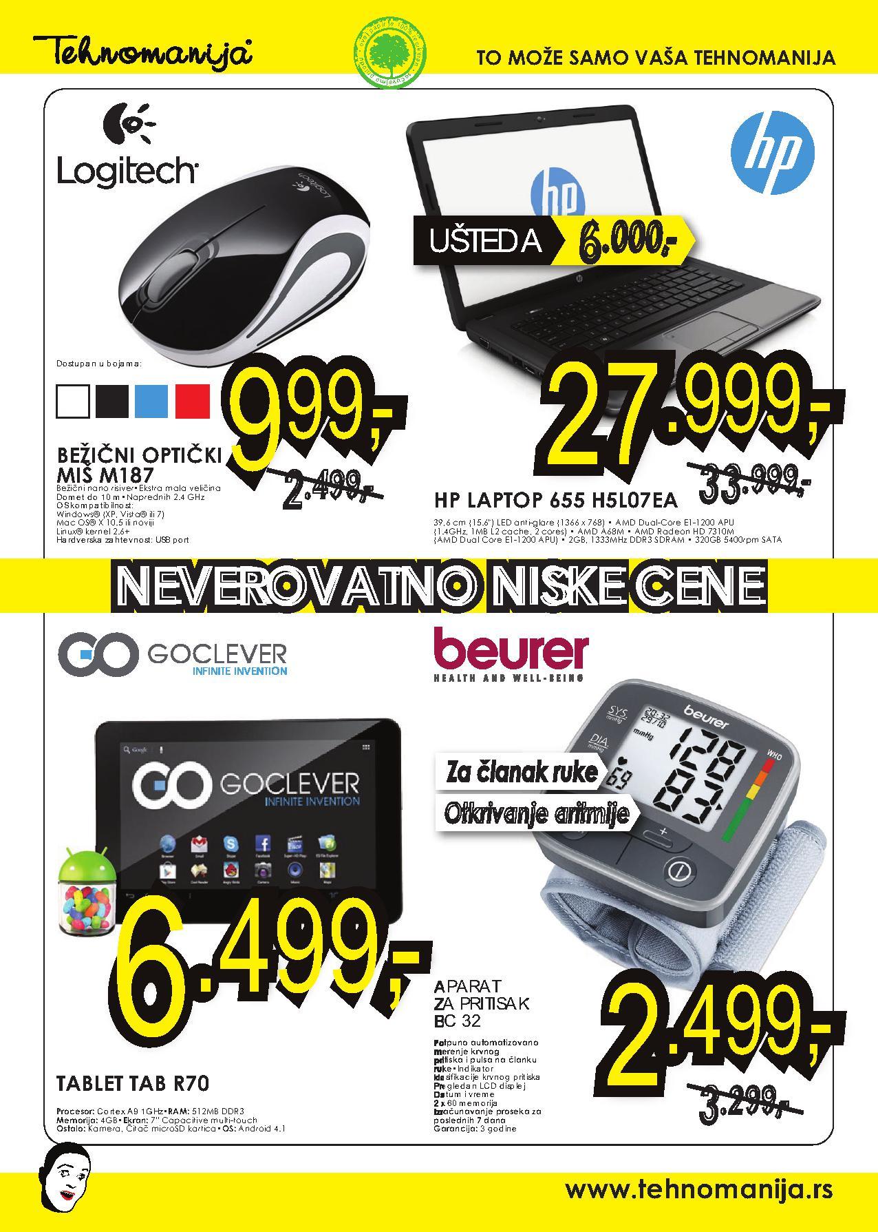 Tehnomanija katalog vikend dobre kupovine