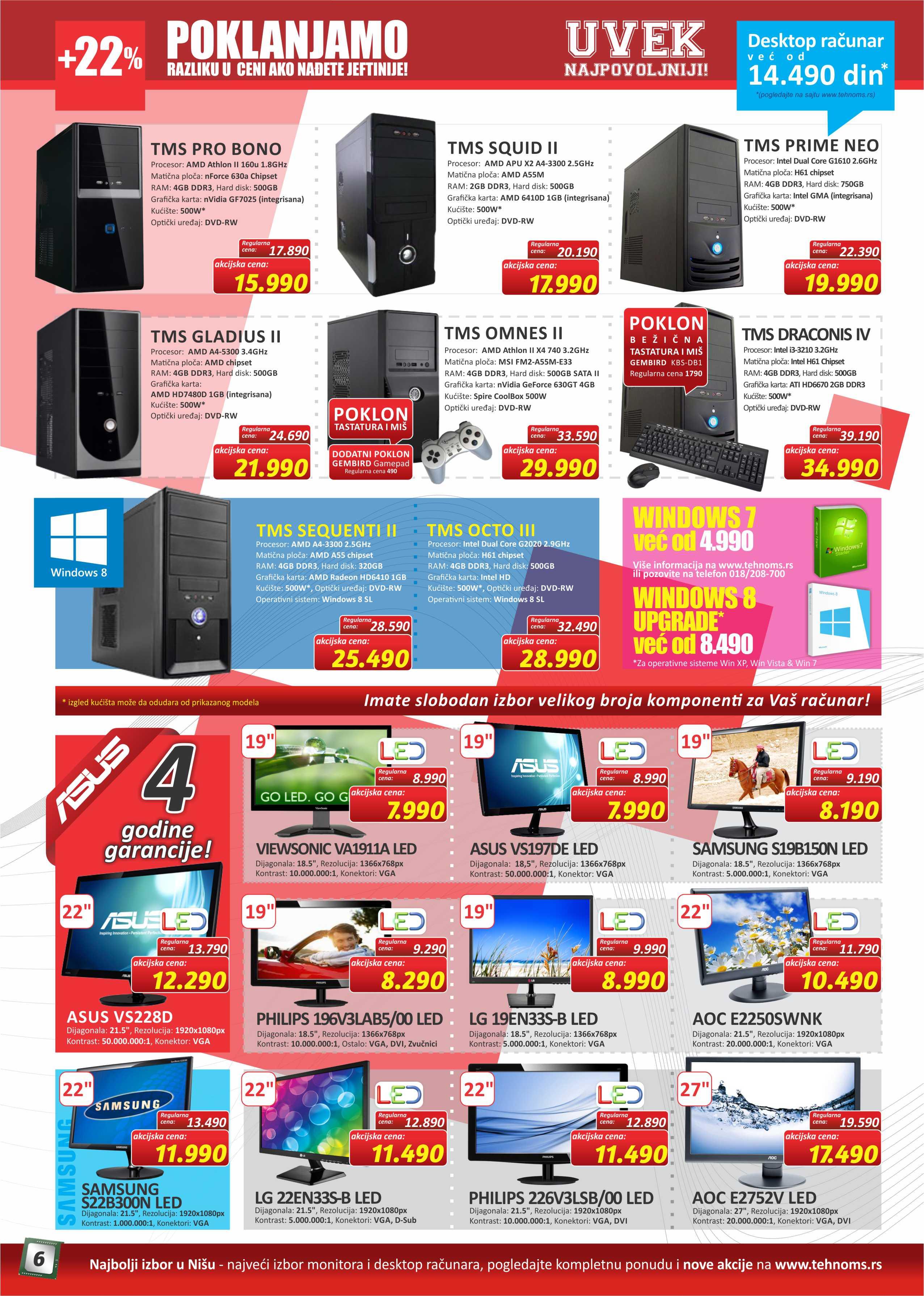 TehnoMS Katalog Računari