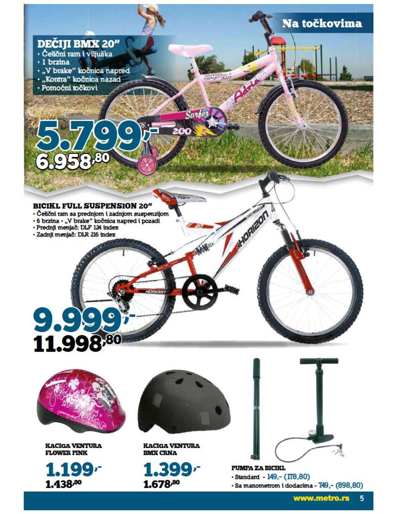 Metro Katalog Skuteri i bicikli
