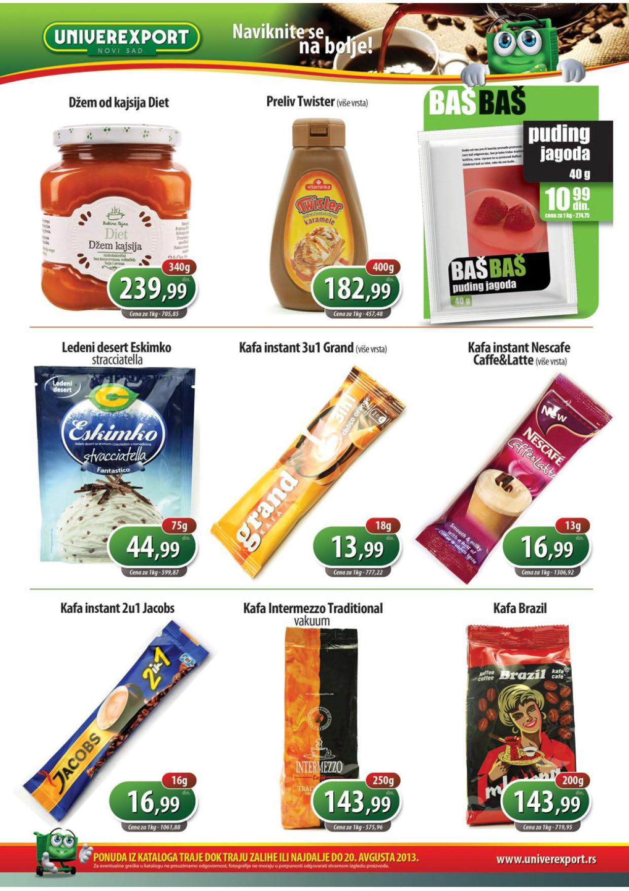 Univerexport Katalog prehrana