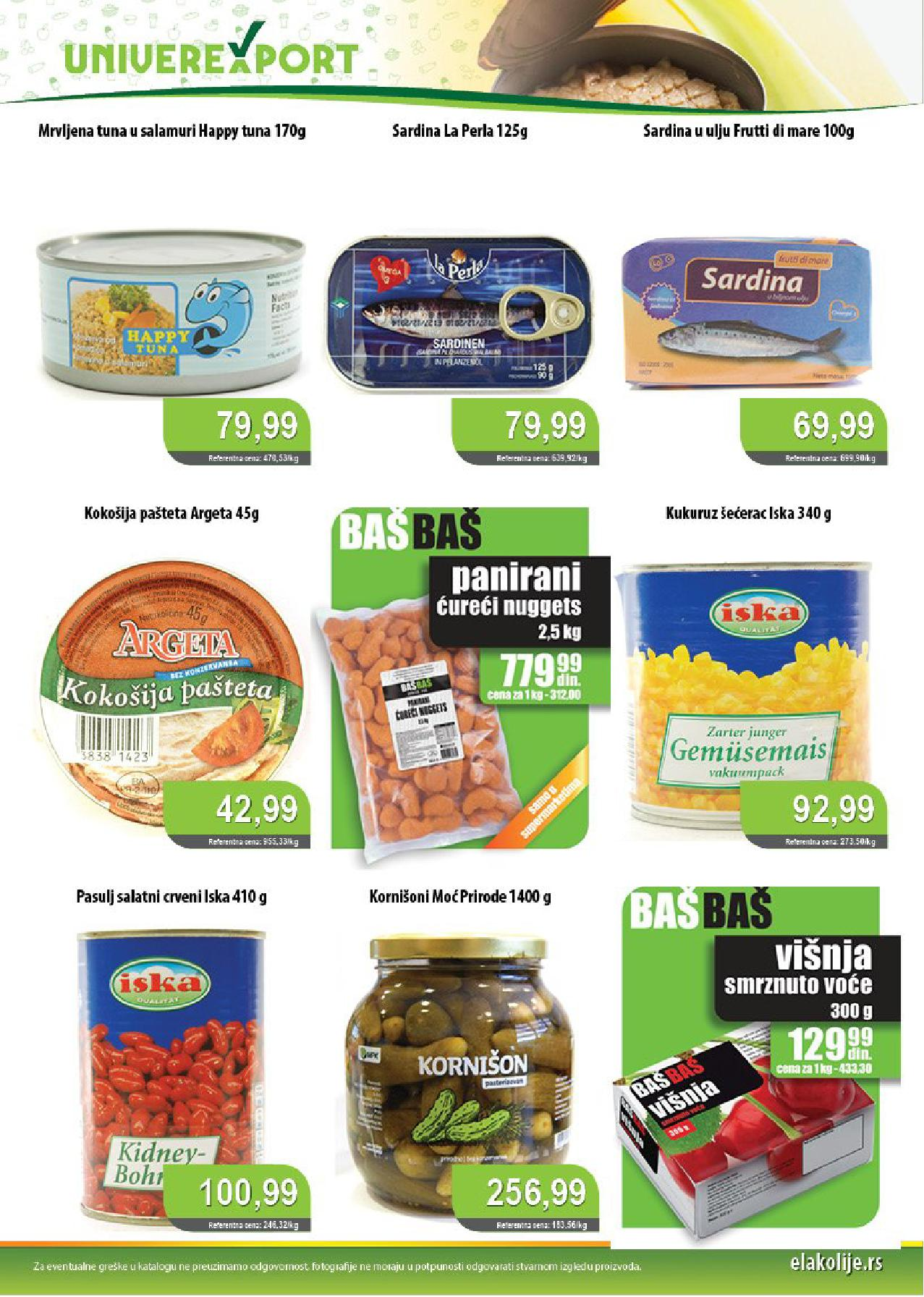 Univerexport Katalog Akcija