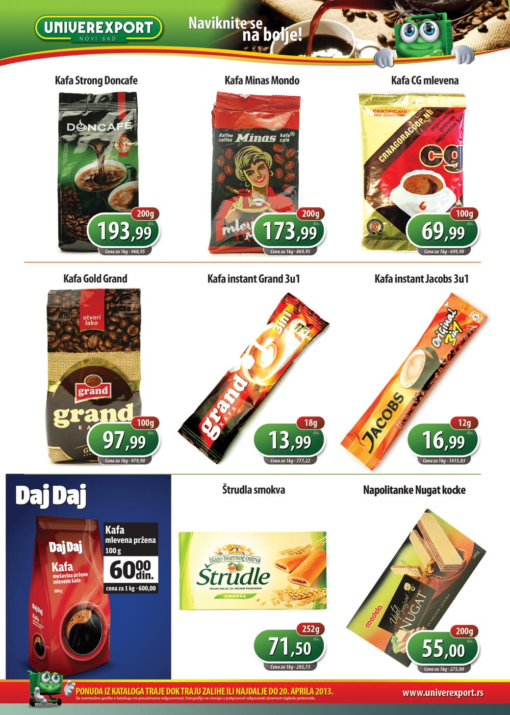 Univerexport Katalog Akcijska ponuda