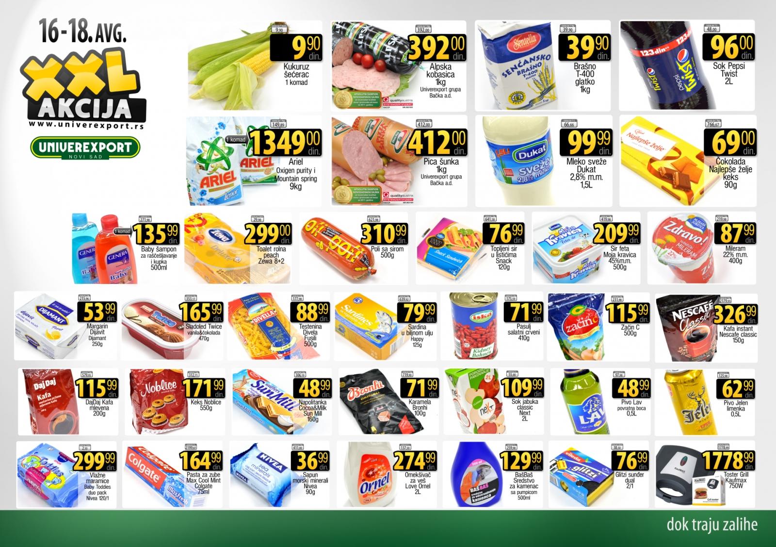 Univerexport katalog vikend odlične kupovine