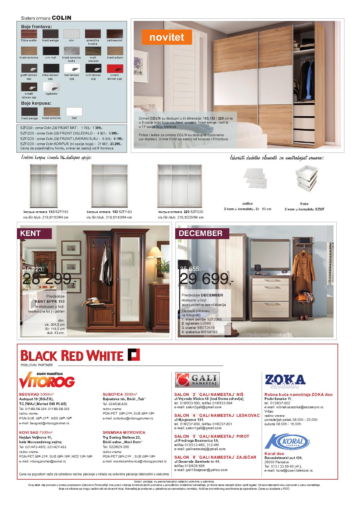 Vitorog Katalog Black Red White