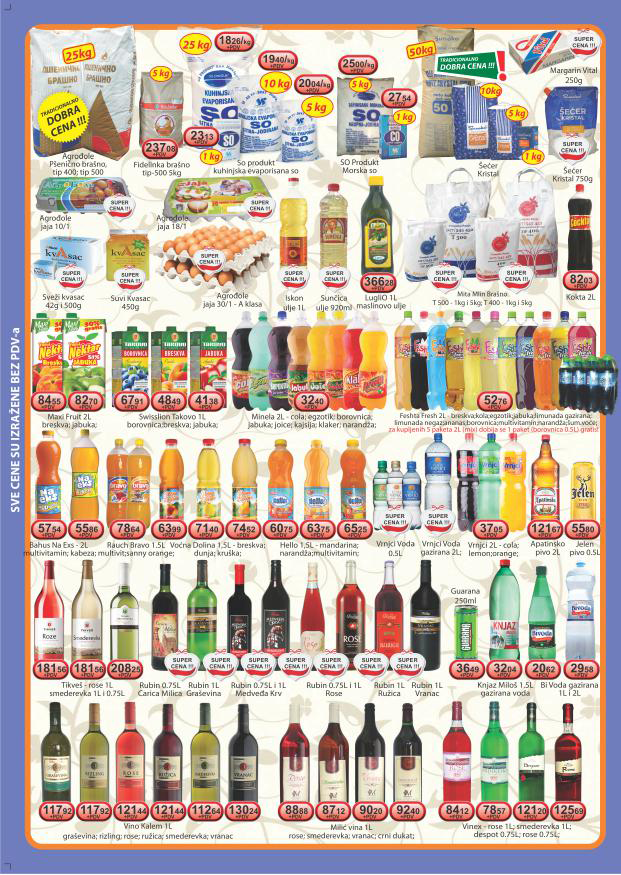 Viva Katalog veleprodaja super cene