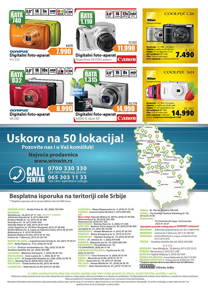 Win Win Katalog letnjih cena