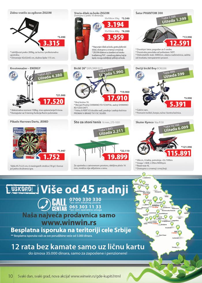 Win Win Katalog akcijska ponuda